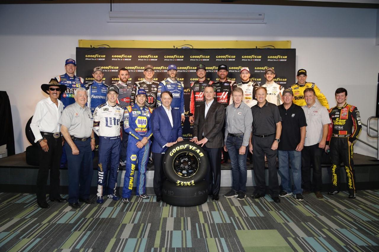Goodyear with NASCAR